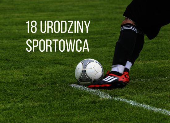 18 urodziny sportowca